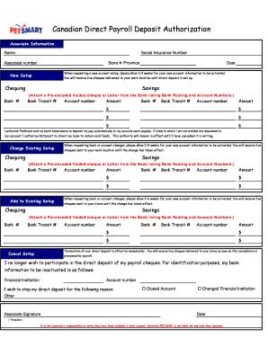 Petsmart Online Direct Deposit Online Form - Fill Online