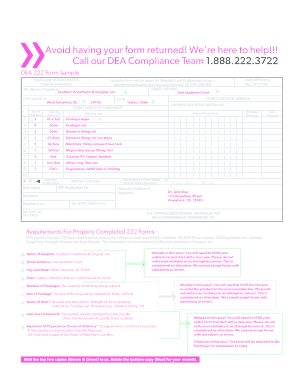 Southern Anesthesia - Fill Online, Printable, Fillable, Blank ...