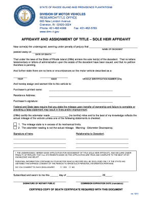 bill of sale form rhode island affidavit of gift of motor vehicle