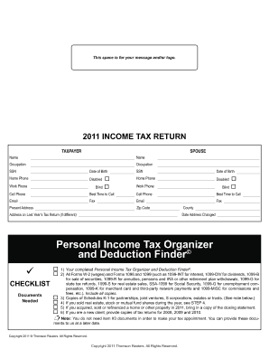 1040 Tax Organizer. Employee Non-compete Agreement blank form