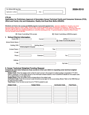 mec reporting package form