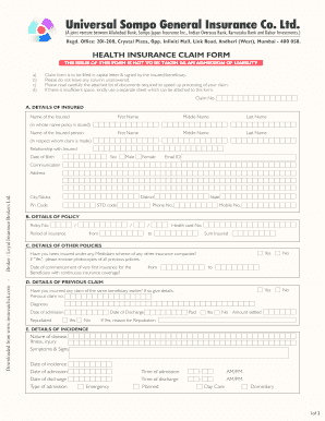 Fillable Online Download universal-sompo Health claim-form ...