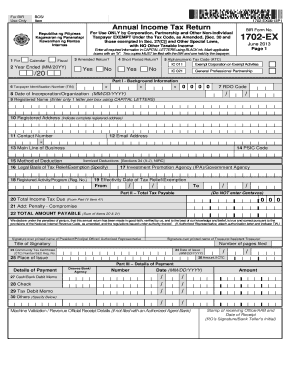 clear images of bir form 1702