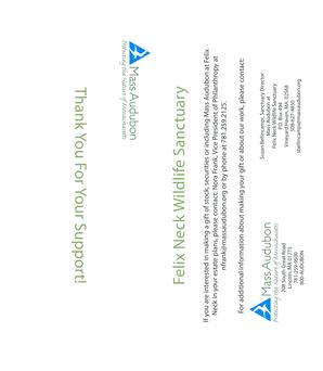 Fillable Online massaudubon Donation Form - Mass Audubon Fax Email ...