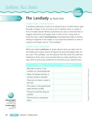 the landlady by roald dahl ending