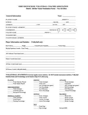 high school volleyball score sheet instructions