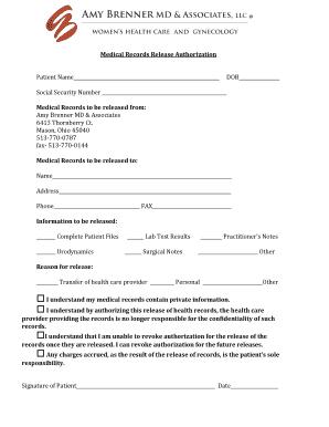 records release authorization