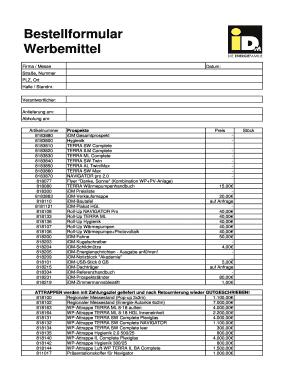 Bestellformular Werbemittel - idm-energie.at Fill Online, Printable ...