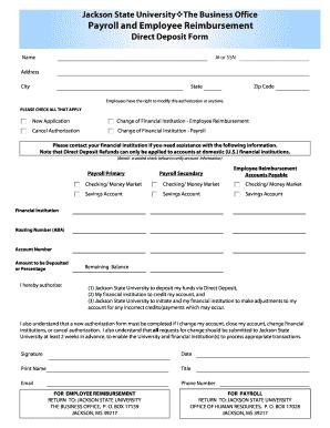 payroll change form