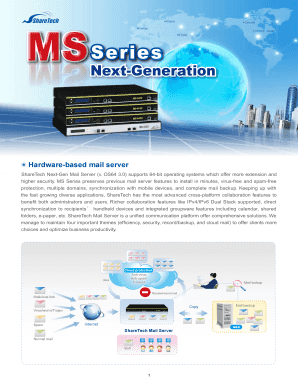 Ms-Series Fax