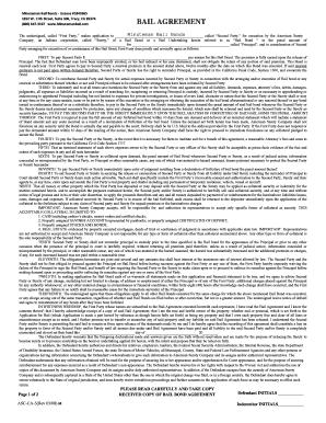 ASC Surety Bail Bond Agreement - Letter Size docx Fill