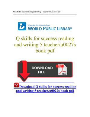 q skills for success free download