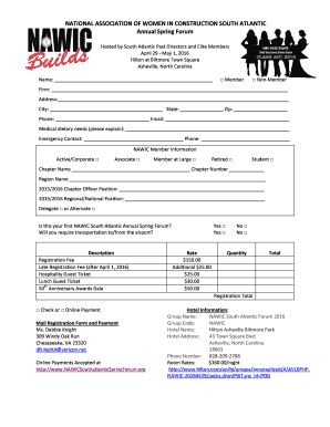Registration form template free download - Fill Out, Print ...