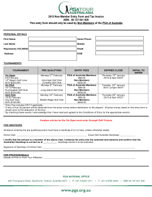 23 Printable Tax Invoice Australia Forms And Templates Fillable Samples In Pdf Word To Download Pdffiller