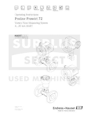 Endress hauser prowirl 72 manual.