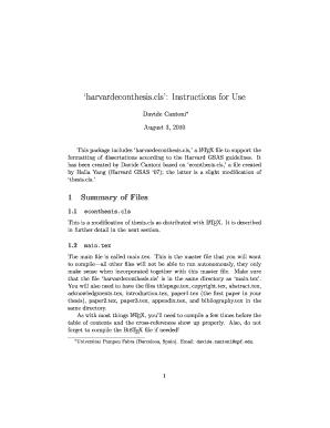 harvard gsas dissertation guidelines