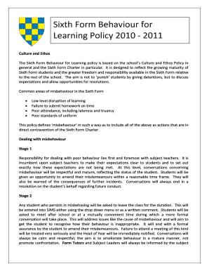 Fillable sample warning letter to student for misbehaviour