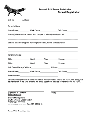 Editable tenant repair request form template - Fillable & Printable