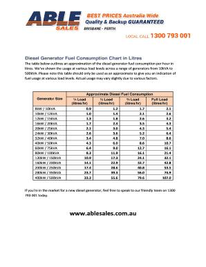 diesel generator test pdf form