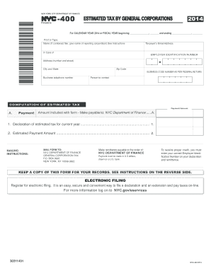 nyc 400 2015 form