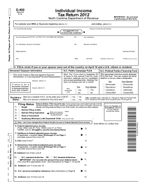Printable Form d-400tc - Fill Out & Download Top Gov Forms in PDF ...