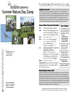 2014-02-01 Summer Camp Brochure (11x17). F/S Template for Report Processing Departments - grangeinsuranceauduboncenter