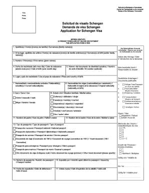 formulaire visa schengen allemagne