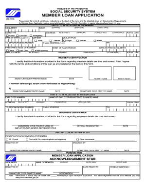 Sss loan form fill online printable fillable blank pdffiller sss loan form altavistaventures Images