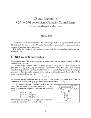 w2 form uiuc  Fillable Online cs uiuc CS 9, Lecture 9 to CFG conversion ...