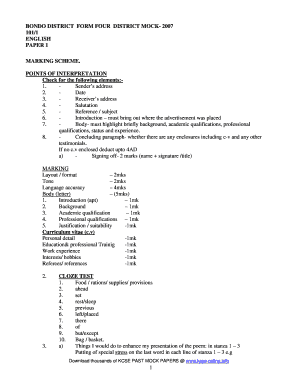 Kcse Papers 2015 - Fill Online, Printable, Fillable, Blank