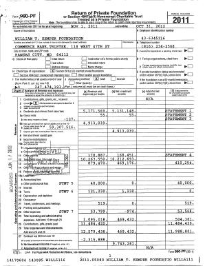 trust tax return instructions 2011