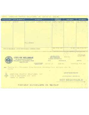 SOP Blank Invoice Form - Home - Fighting Red Light Camera Tickets