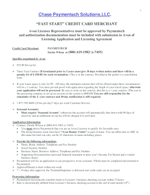chase receive ach payments - Edit Online, Fill Out & Download