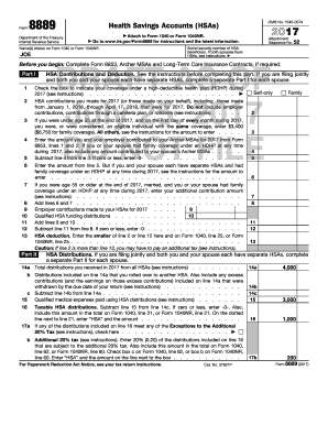 Fillable Online apps irs To see Joe's completed Form 8889 ...