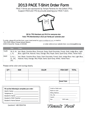 38585354 T Shirt Order Form Online on high school, printable pdf, template microsoft word,