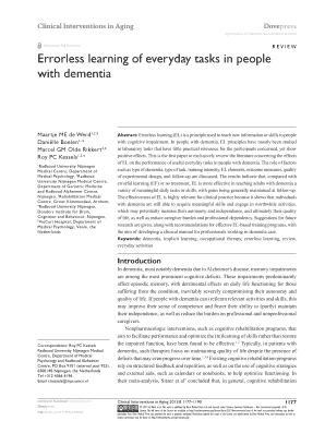 Errorless Learning Research Paper - image 4