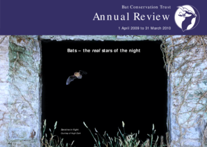 Annual Review 20092010 - Bat Conservation Trust