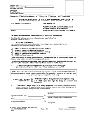 Editable indiana printable guardianship papers - Fillable ...
