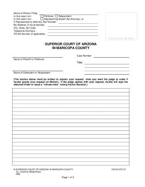 2013-2019 Form AZ GN10f Fill Online, Printable, Fillable