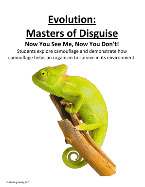 explore the use of disguise and
