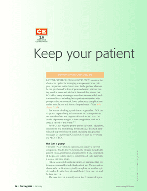 fillable online ancc aacn contact hours keep your patient safe