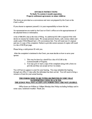 Printable contested divorce in texas forms - Fill Out