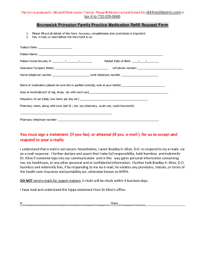 insurance company referral request form fill online printable