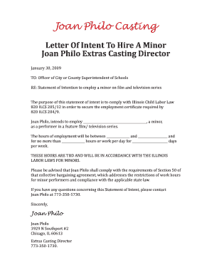 Health policy memo example forms and templates fillable for Letter of intent to hire template