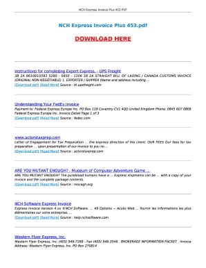 fedex freight bill of lading form pdf