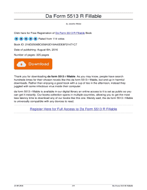 5513 R - Fill Online, Printable, Fillable, Blank | PDFfiller