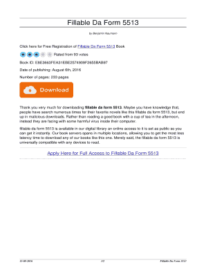 fillable online bookreferelegant da form 5513 bookreferelegant top