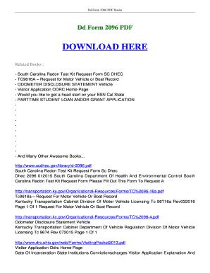 Fillable Online ebookscenter Dd Form 2096 FREE Download ...