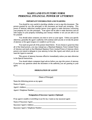 picture regarding Maryland Power of Attorney Form Free Printable named free of charge economical electrical power of lawyer sort - Fillable Printable