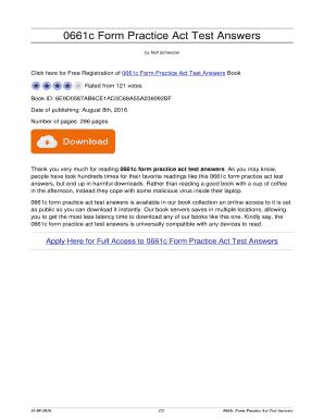 Test pdf act